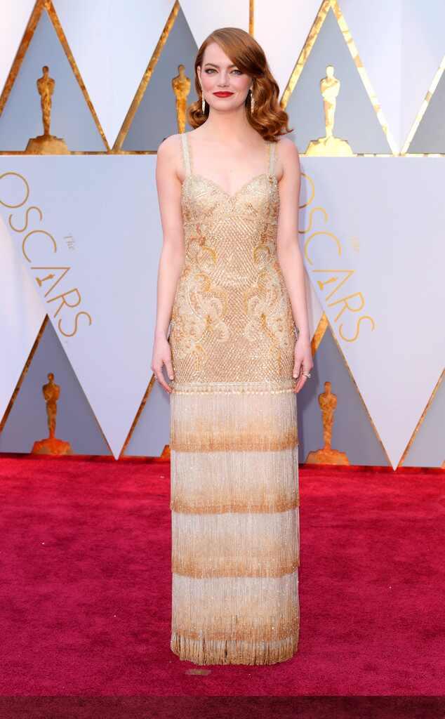 Emma Stone, 2017 Oscars, Academy Awards, Arrivals