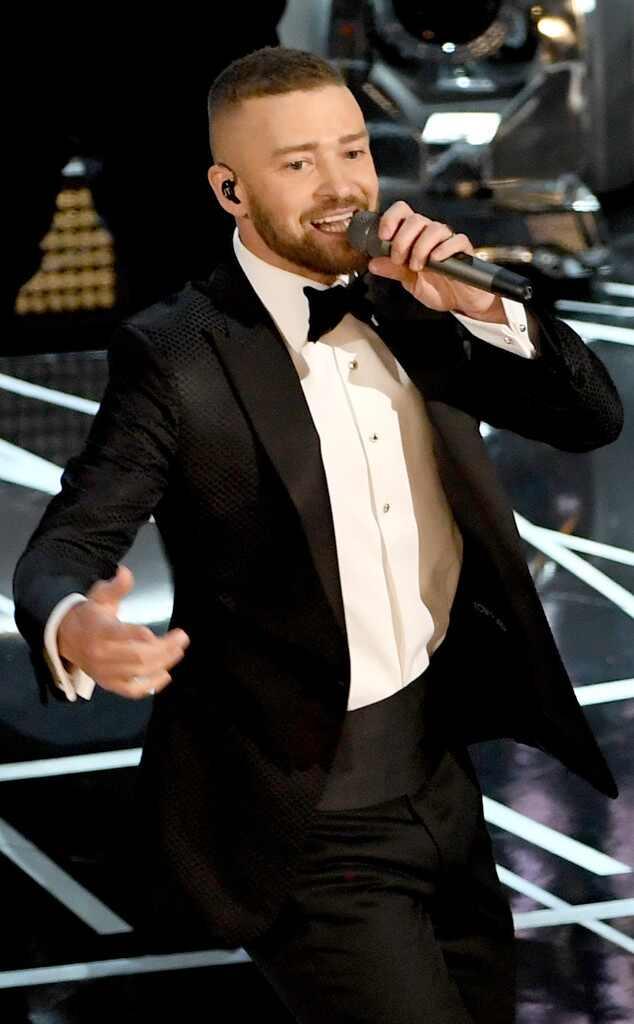Justin Timberlake arra...