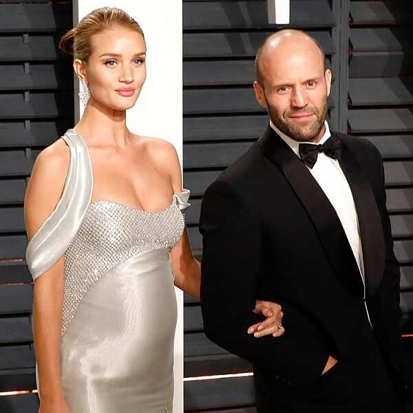 Rosie Huntington-Whiteley, Jason Statham, 2017 Oscars, Vanity Fair After Party