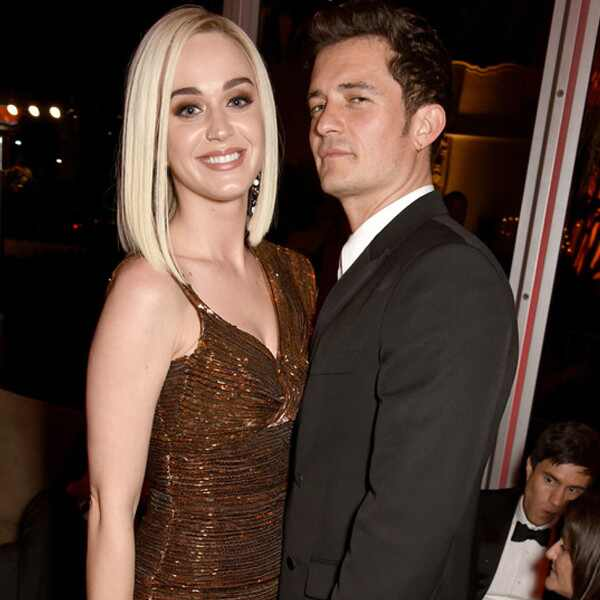 Katy Perry, Orlando Bloom, 2017 Oscars Party Pics, Vanity Fair