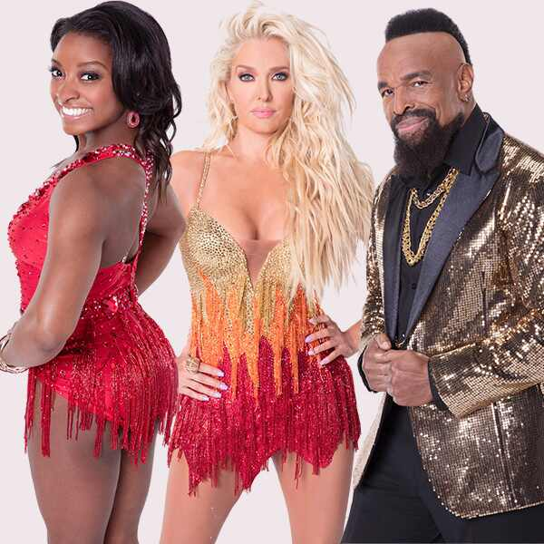 Simone Biles, Erika Jayne, Mr. T, Dancing With the Stars, DWTS