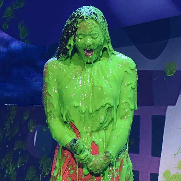 Demi Lovato, 2017 Kids Choice Awards, Show, Slime