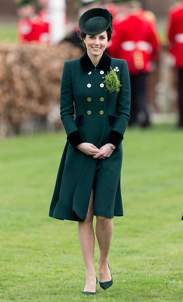 Kate Middleton, St. Patricks Day 2017