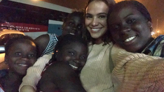 Bruna Marquezine, Instagram