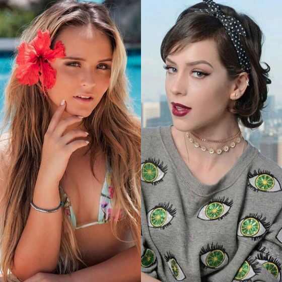 Larissa Manoela, Sophia Abrahão, Instagram