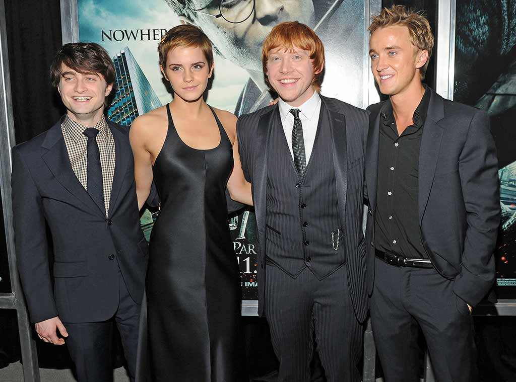 Daniel Radcliffe, Emma Watson, Rupert Grint, Tom Felton, Harry Potter and the Deathly Hallows - Part 1