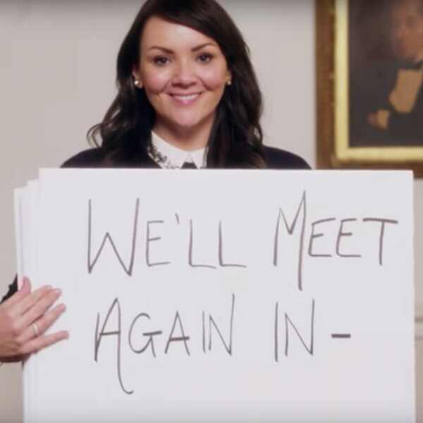 Martine McCutcheon, Love Actually Reunion, Red Nose Day