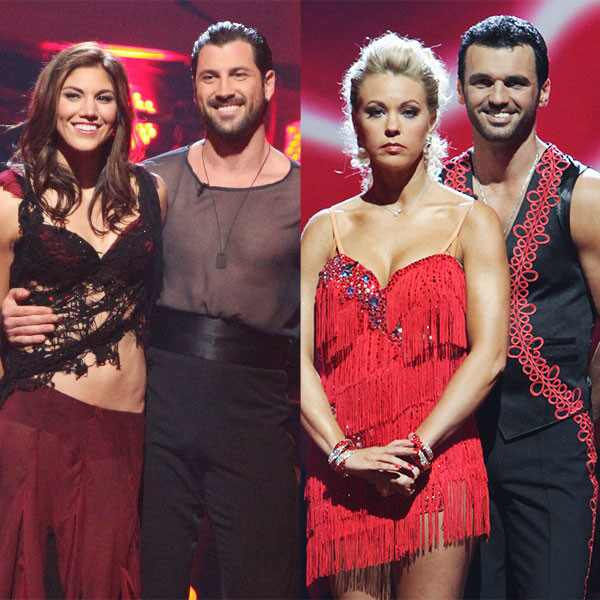 Hope Solo, Maksim Chmerkovskiy, Kate Gosselin, Tony Dovolani, Dancing With The Stars