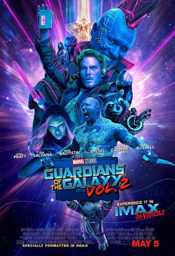 Guardians of the Galaxy Vol. 2, IMAX