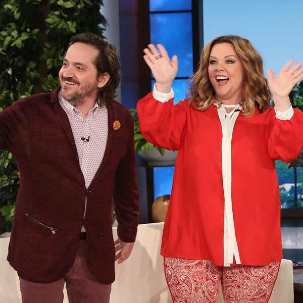 Melissa McCarthy, Ben Falcone, The Ellen DeGeneres Show