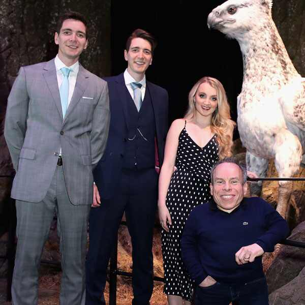 James Phelps, Oliver Phelps, Evanna Lynch, Warwick Davis