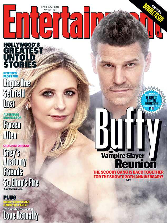 Buffy the Vampire Slayer, Sarah Michelle Gellar, EW