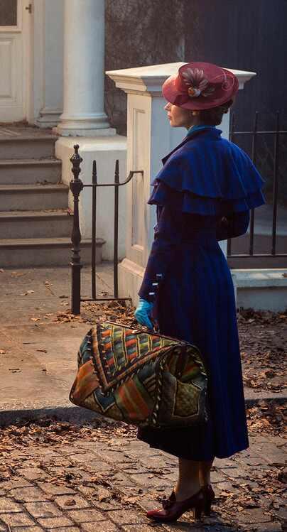 OMG! Mira a Emily Blunt filmando una de las escenas más icónicas de Mary Poppins (+ Fotos)