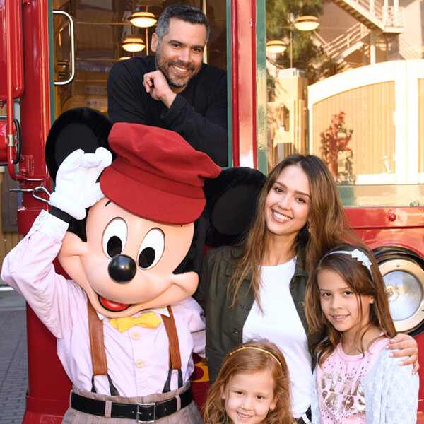 Jessica Alba, Cash Warren, Disney