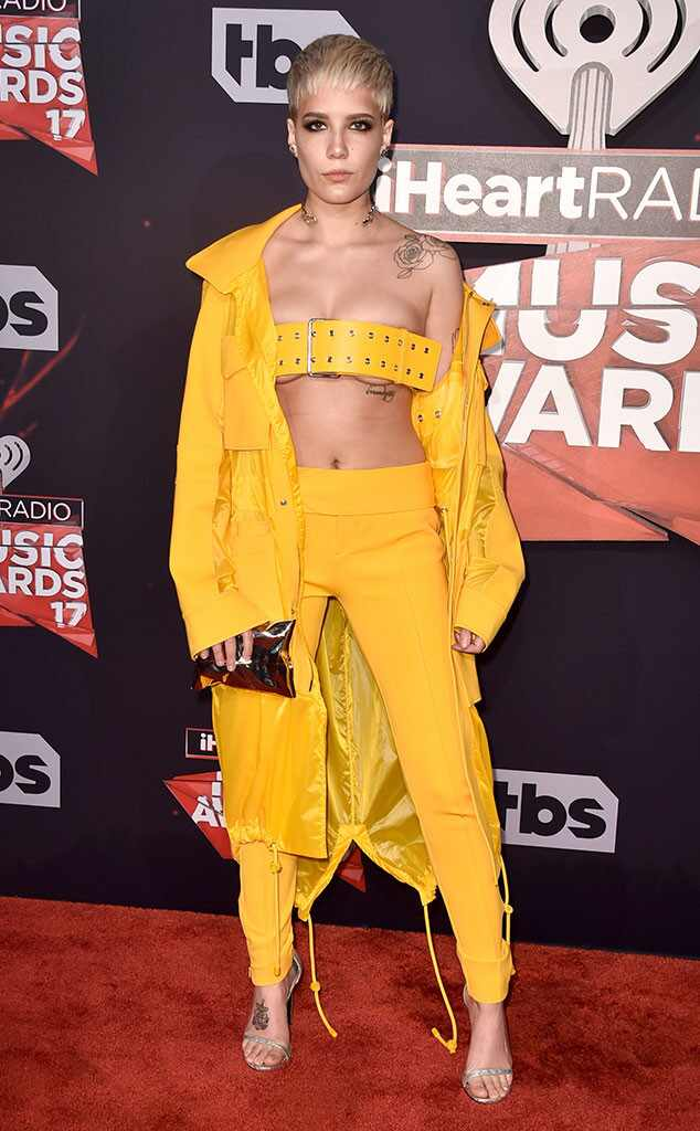 Halsey, 2017 iHeartRadio Music Awards, Arrivals