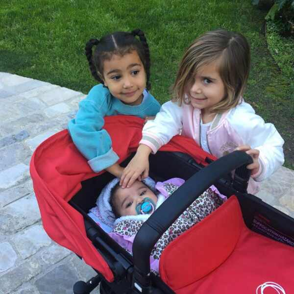North West, Penelope Disick, Dream Kardashian, Instagram