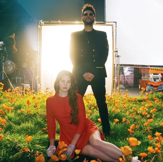 Lana del Rey y The Weeknd a un paso de besarse al ritmo de <i>Lust For Life</i> &iexcl;M&iacute;ralos!