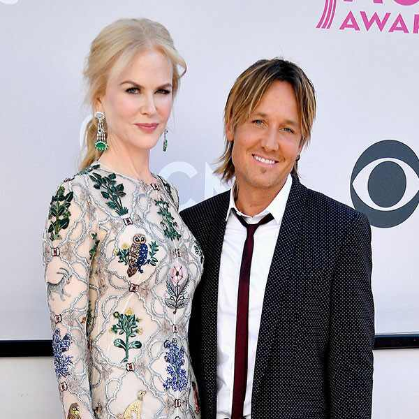 Nicole Kidman, Keith Urban, 2017 ACM Awards, Arrivals