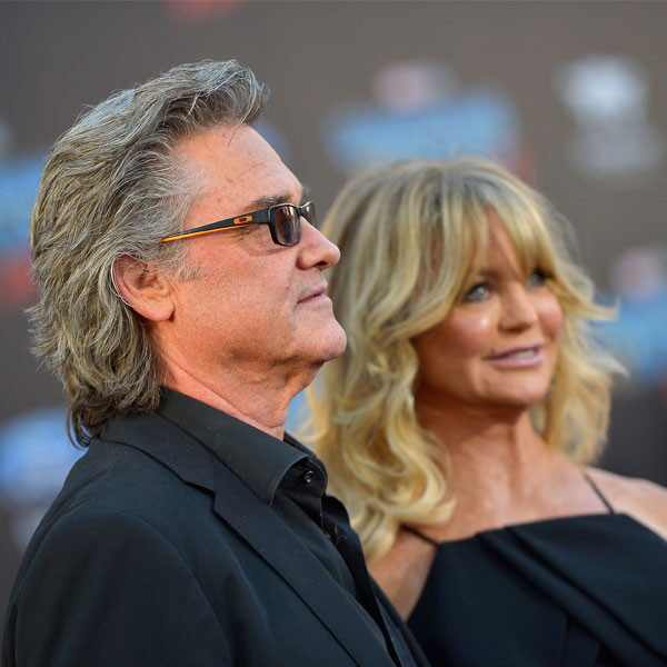 Kurt Russell, Goldie Hawn, Guardians of the Galaxy Vol. 2 Premiere