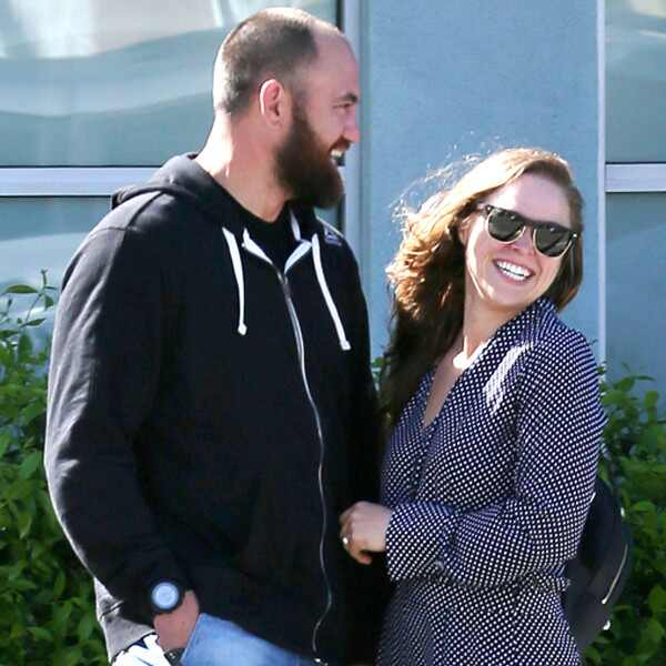 Ronda Rousey, Travis Browne, Engaged