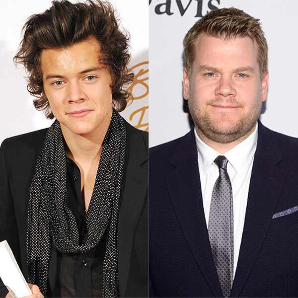 Harry Styles, James Corden