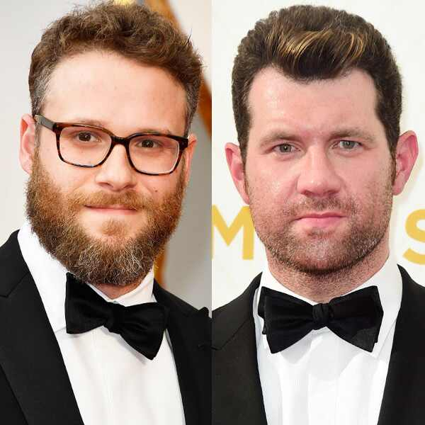 Seth Rogen, Billy Eichner