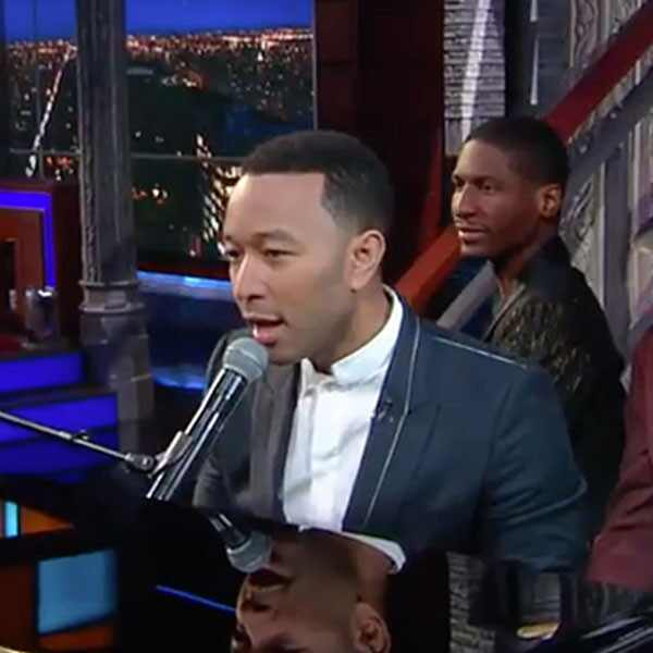 John Legend, The Late Show