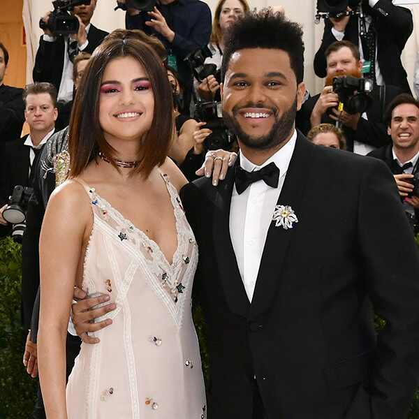 Selena Gomez, The Weeknd, 2017 Met Gala, Couples