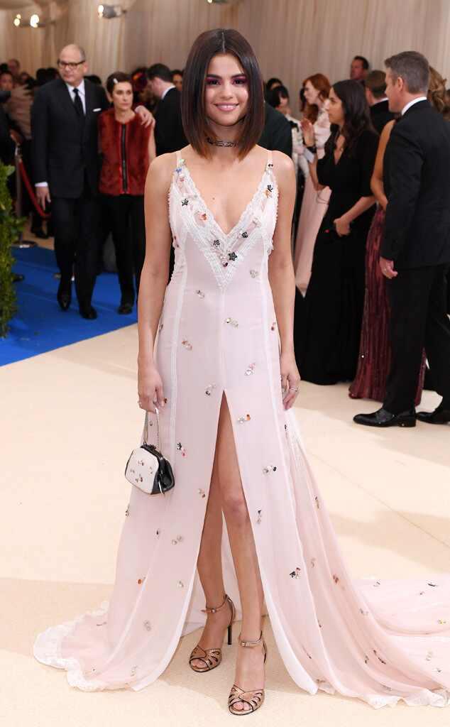 Selena Gomez, 2017 Met Gala Arrivals