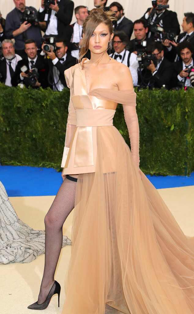 Gigi Hadid, 2017 Met Gala Arrivals
