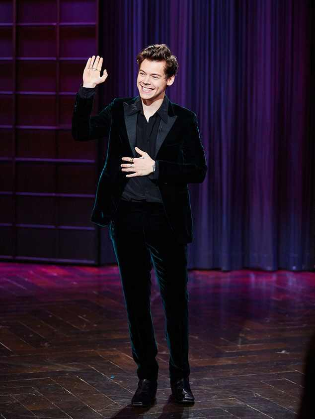Harry Styles, The Late Late Show