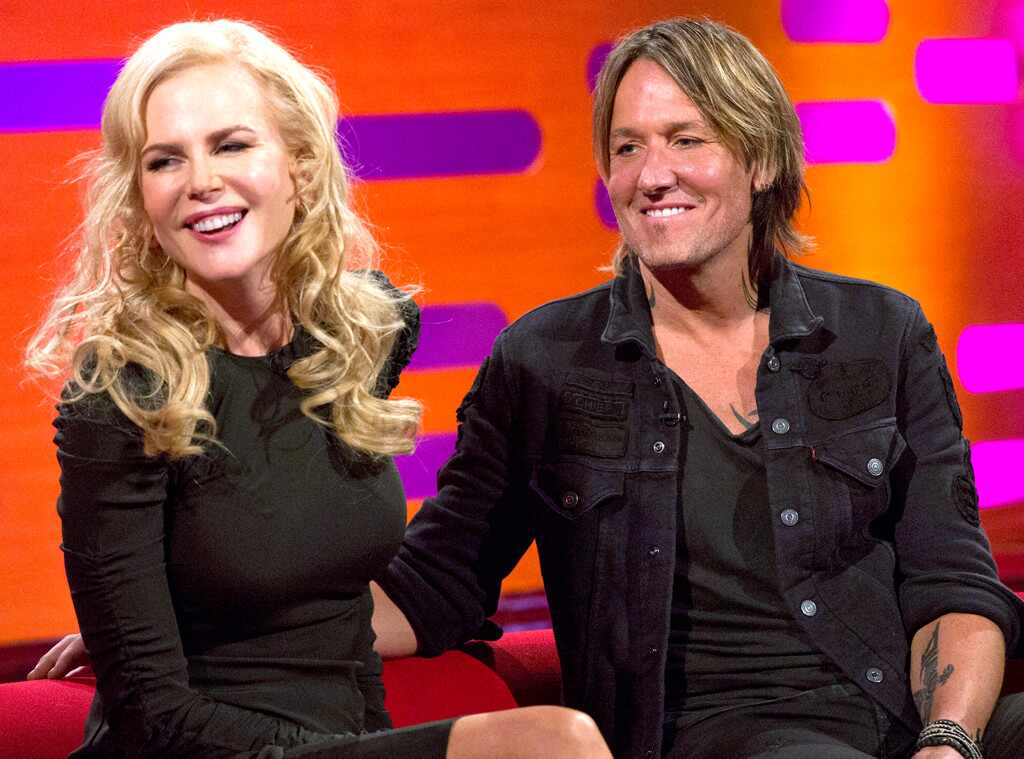 The GRaham Norton Show, Nicole Kidman, Keith Urban