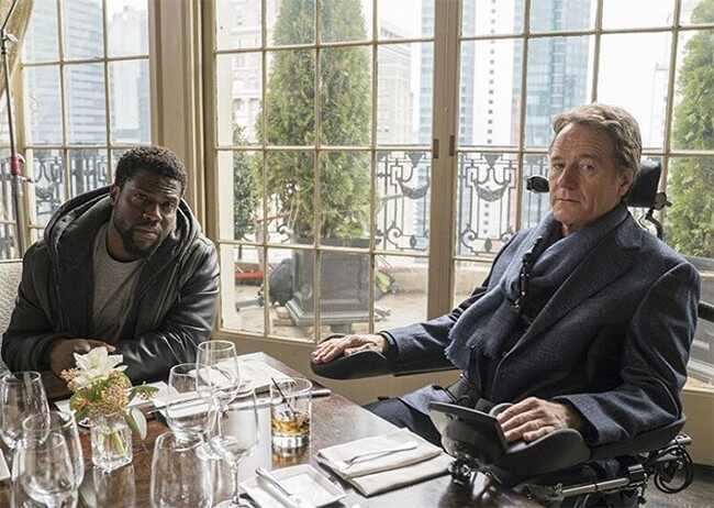 Kevin Hart, Bryan Cranston, Untouchable, Movie