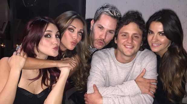 Anahi, Christian Chávez, Maite Perroni, Dulce Maria, RBD, Christian Uckermann