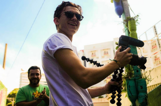 Tom Holland, Brasil, Instagram