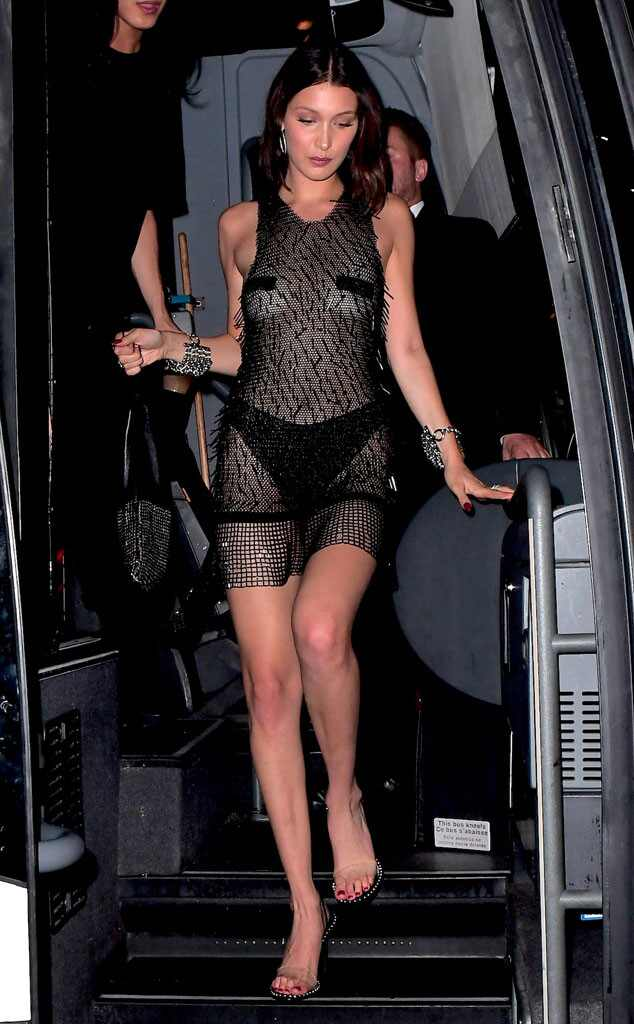 Bella Hadid, 2017 Met Gala After Party Pics