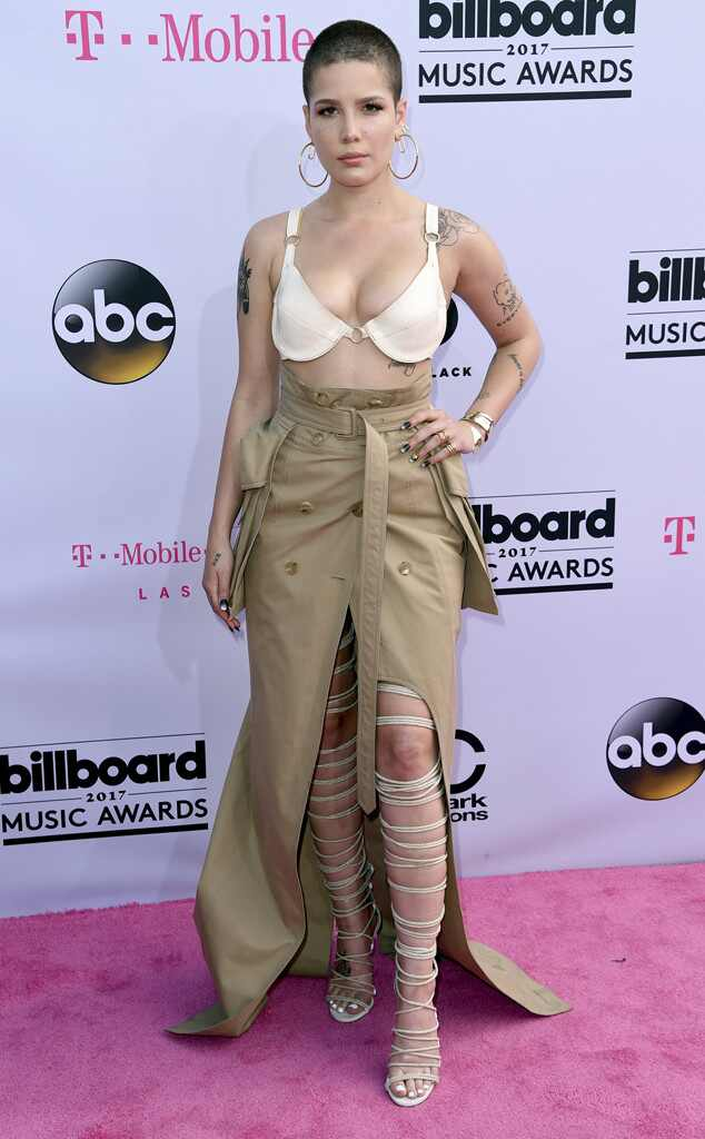 Halsey, 2017 Billboard Music Awards, Arrivals