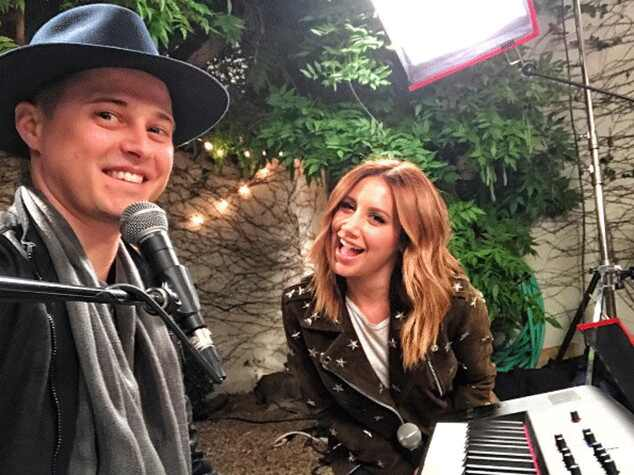Ashley Tisdale y Lucas Grabeel se reencuentran — High School Musical