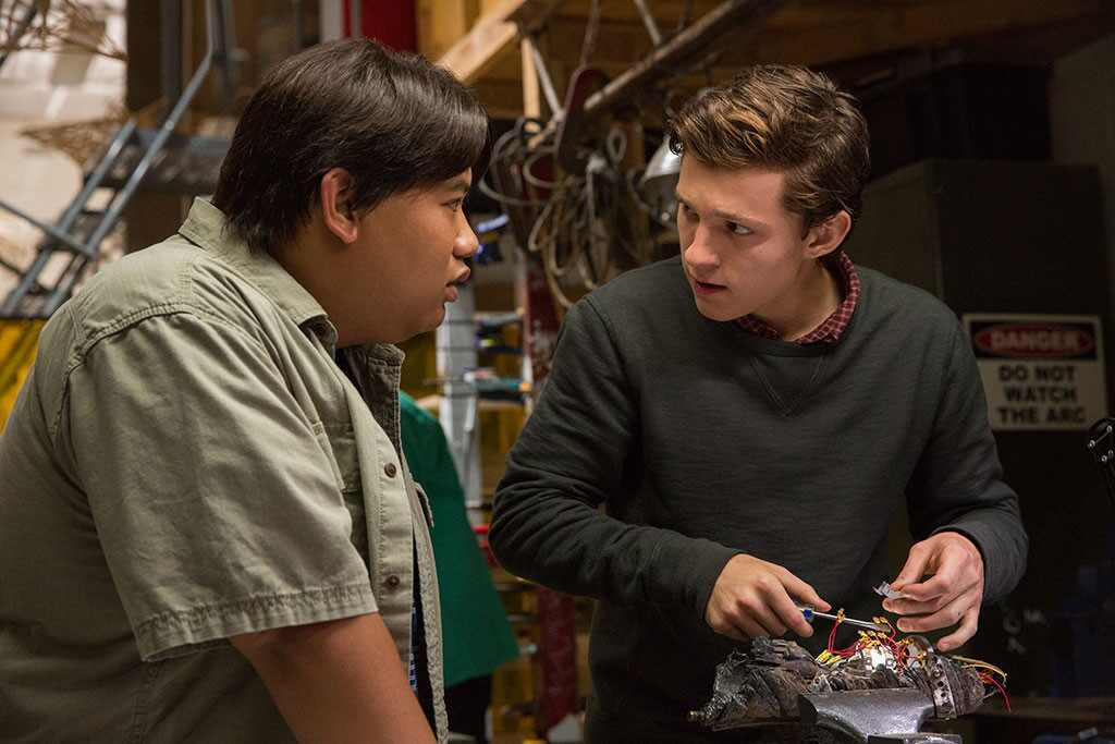 Spider-Man: Homecoming, Jacob Batalon, Tom Holland