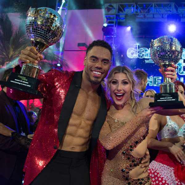 Dancing With the Stars, DWTS, Rashad Jennings, Emma Slater