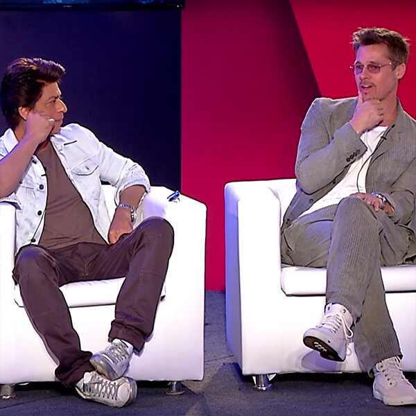 Brad Pitt, Shah Rukh Khan