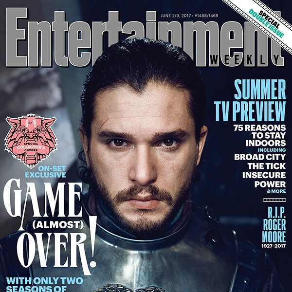 Kit Harington, EW, Cover