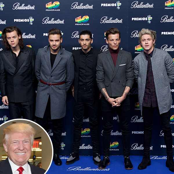 One Direction, Donald Trump