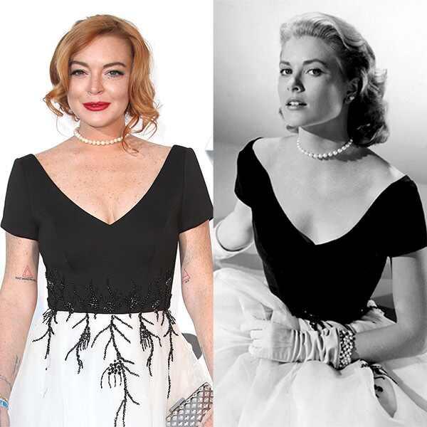 Lindsay Lohan, Grace Kelly