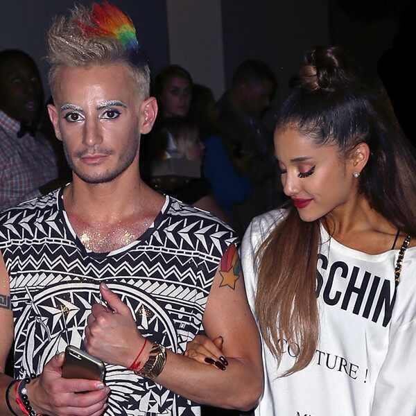 Frankie Grande, Ariana Grande