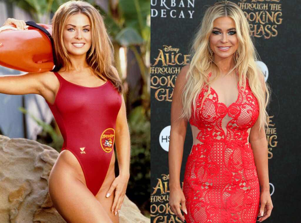 Carmen Electra, Baywatch Then and Now