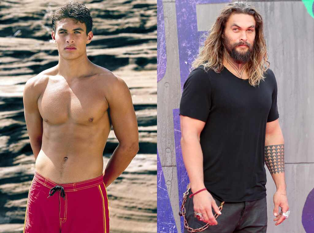 Jason Momoa, Baywatch Then and Now