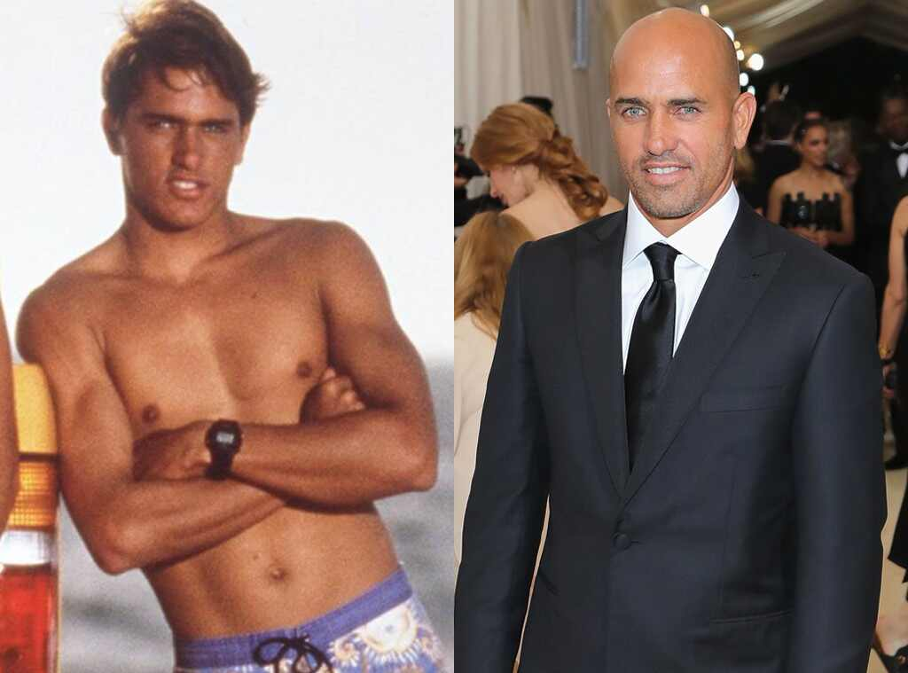 Kelly Slater, Baywatch Then and Now