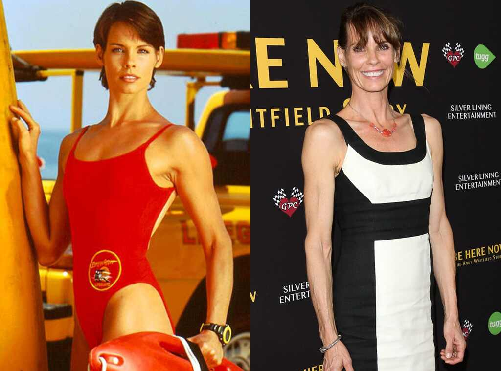 Alexandra Paul, Baywatch Then and Now