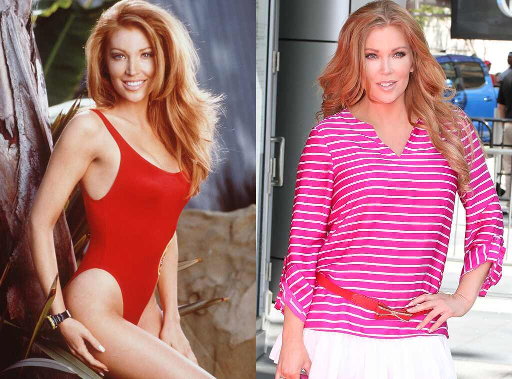 Angelica Bridges, Baywatch Then and Now